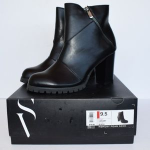 Vera Wang Canary Womens High Heel Ankle Boots